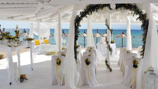 Allestimento di una Wedding Planner